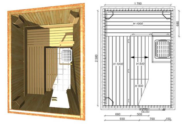 Проекты бань и саун 35