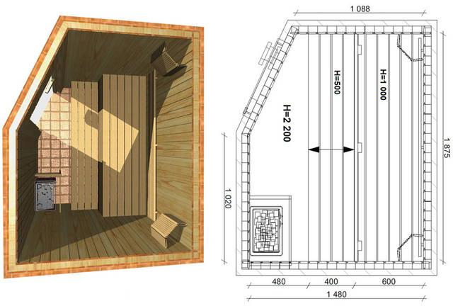 Проекты бань и саун 38