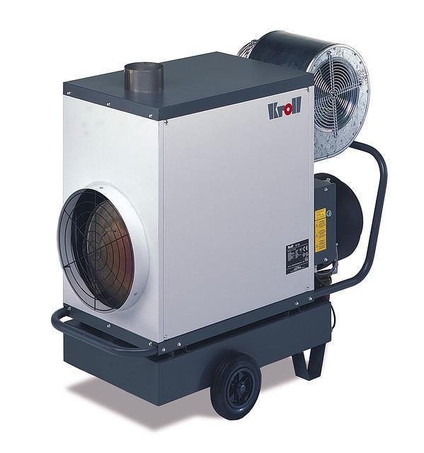 Мобільні теплогенератори Kroll серії M 100U (100кВт)