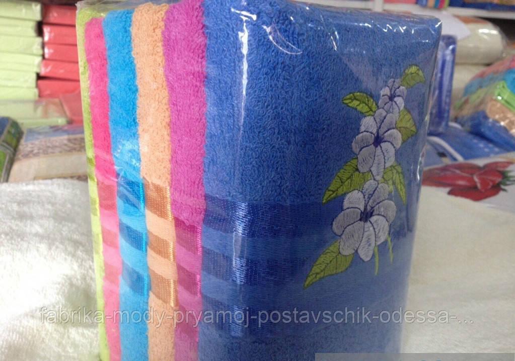 Качественное банное полотенце. Размер: 140*70.