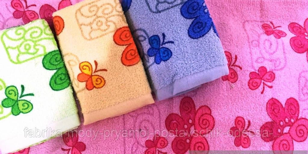 Кухонное полотенце Бабочка-Цветочек (Венгрия). Размер: 33*73