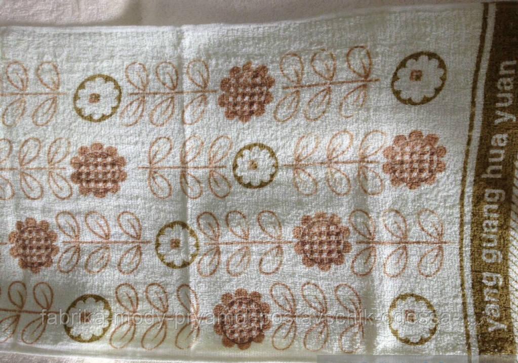 Кухонное полотенце Листочки (Венгрия) . Размер: 33*73