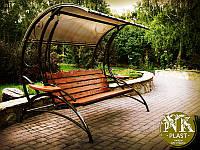 """""""Paradise"""" - без матраса, деревянные садовые качели"""