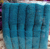 Полотенца для гостиниц.Банные полотенца Синие