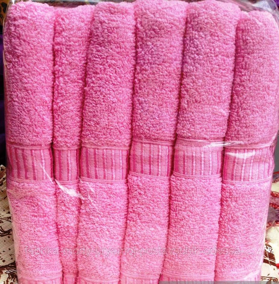 Полотенца для гостиниц.Метровые полотенца Розовые