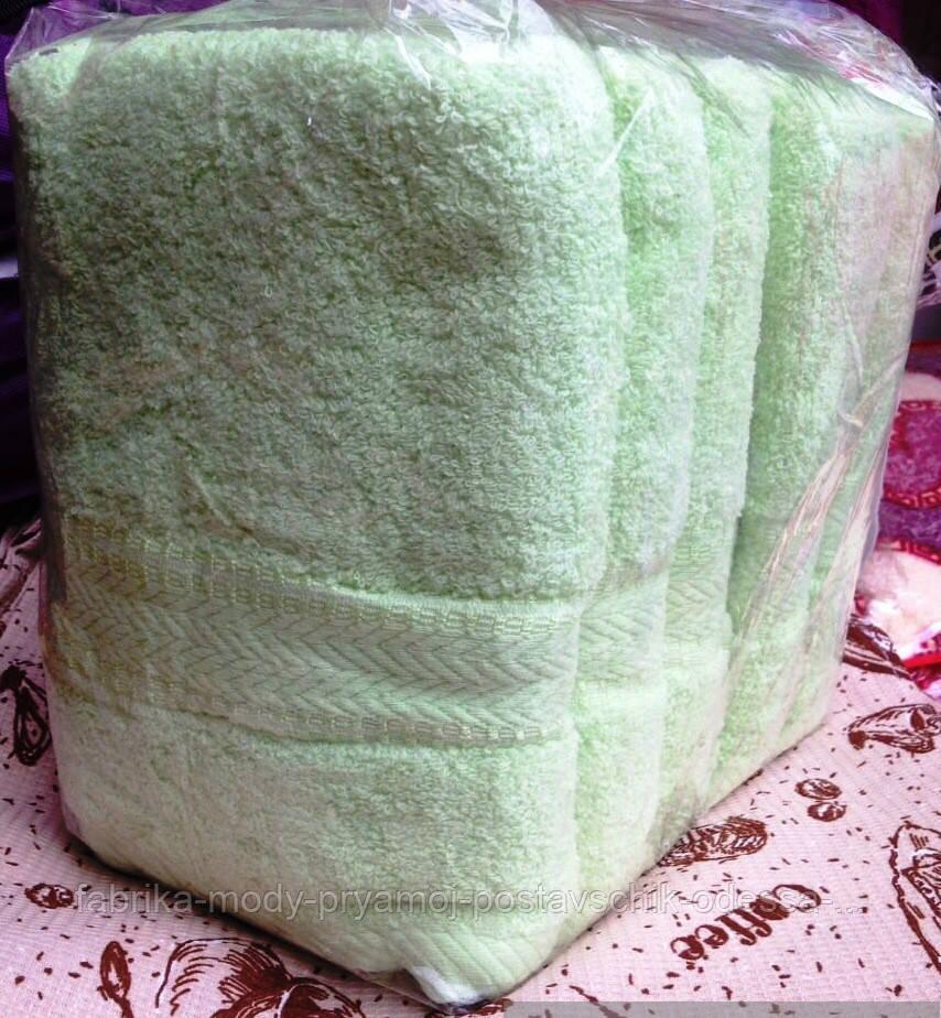 Полотенца для гостиниц. Метровые полотенца Салатовые