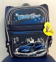 Рюкзак школьный детский трансформер Спортивные машины Willy WL-826