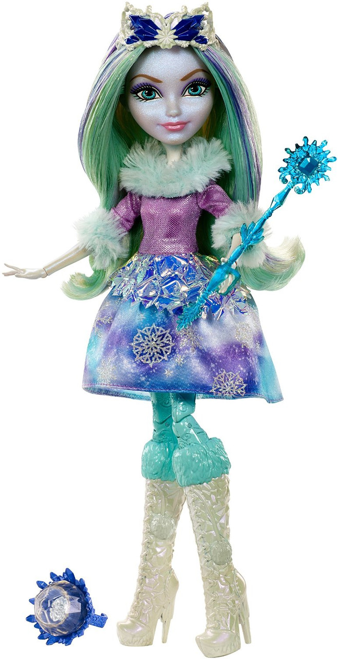 Ever After High Эпическая зима Кристал Винтер Epic Winter Crystal Winter Doll