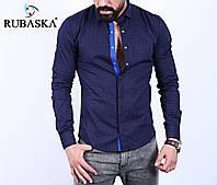 Мужская рубашка  длинный рукав Турция.  RSK-3017, фото 1