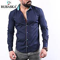 Мужская рубашка  длинный рукав Турция.  RSK-3019, фото 1