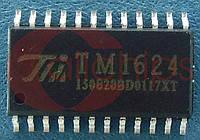 Драйвер 7-сегментного индикатора TM TM1624 SOP24