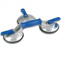 Тройная алюминиевая присоска Veribor® blue line
