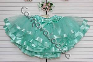 Нарядная фатиновая юбка Tiffany