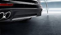 Накладка задней части кузова из нержавеющей стали  | Porsche Cayenne E2 II