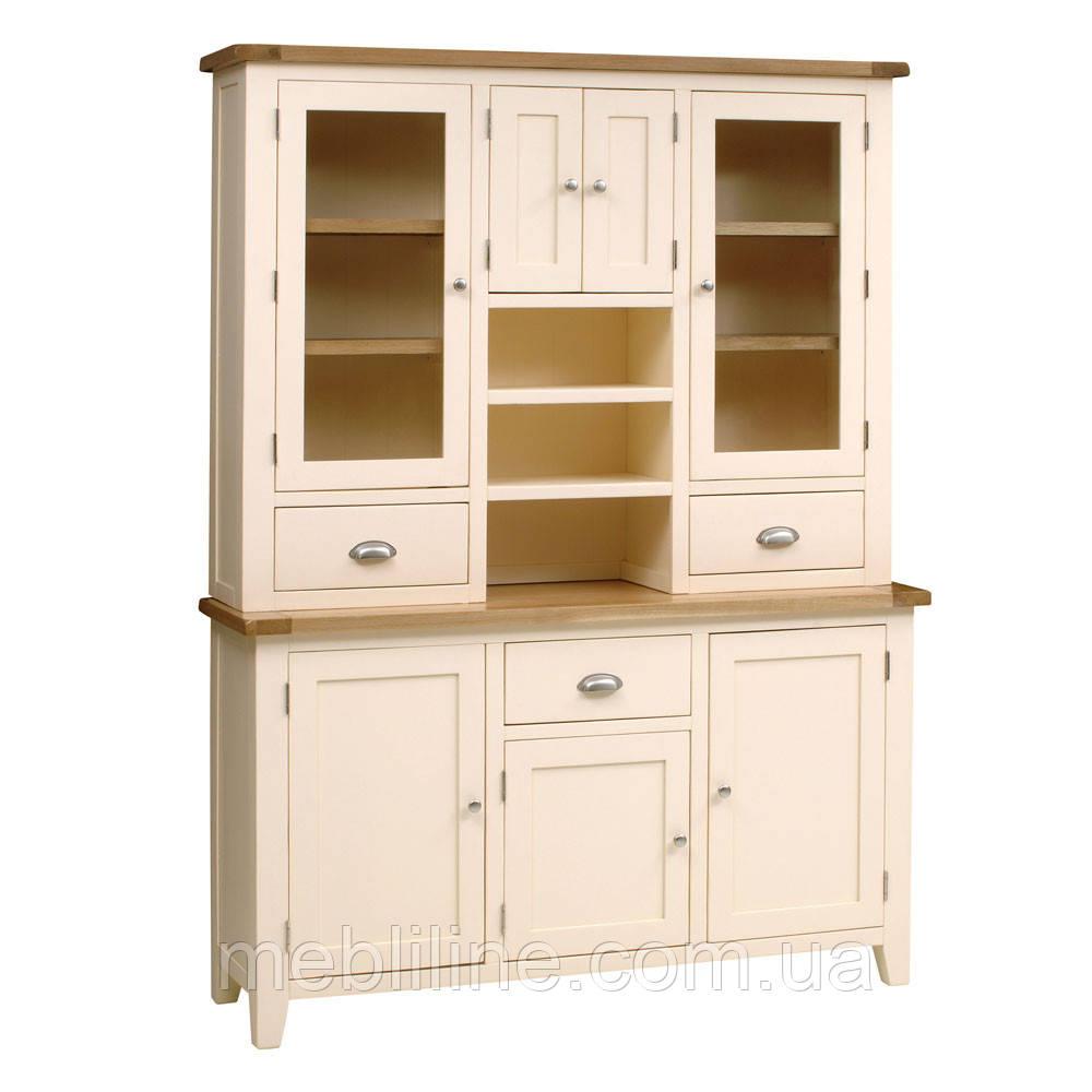 буфет из дерева Canterbury деревянная мебель для кухни от производителя мебельная фабрика Mebliline киев украина