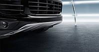 Накладка передней части кузова из высококачественной стали    Porsche Cayenne E2 II 2015 -
