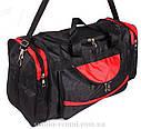 Текстильная дорожная сумка среднего размера 83-60, фото 2