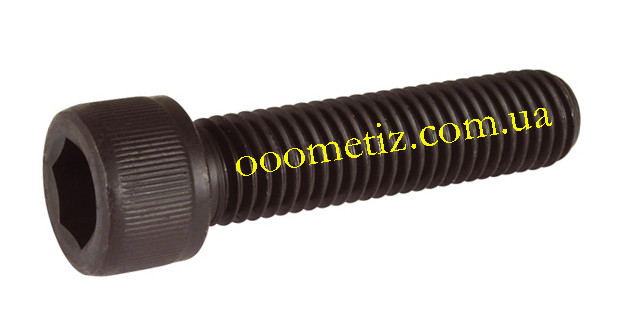 Гвинт М8х20 8.8 без покриття DIN 912, ГОСТ 11738-84 з циліндричною головкою і внутрішнім шестигранником