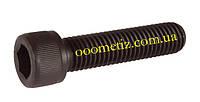 Винт М12х25 8.8 без покрытия DIN 912, ГОСТ 11738-84 с цилиндрической головкой и внутренним шестигранником