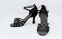 Обувь для танца (латина женская) р-р 36-41 черный
