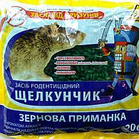 Щелкунчик зерно  от крыс и мышей (зеленый) 200 г