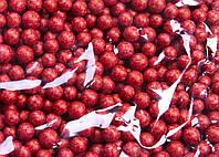 Пенопластовые шарики (вес 10g, диаметр 7mm)  для рукоделия, творчества и декора светло-коричневые