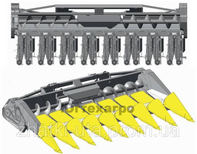 Механизм кукурузной жатки