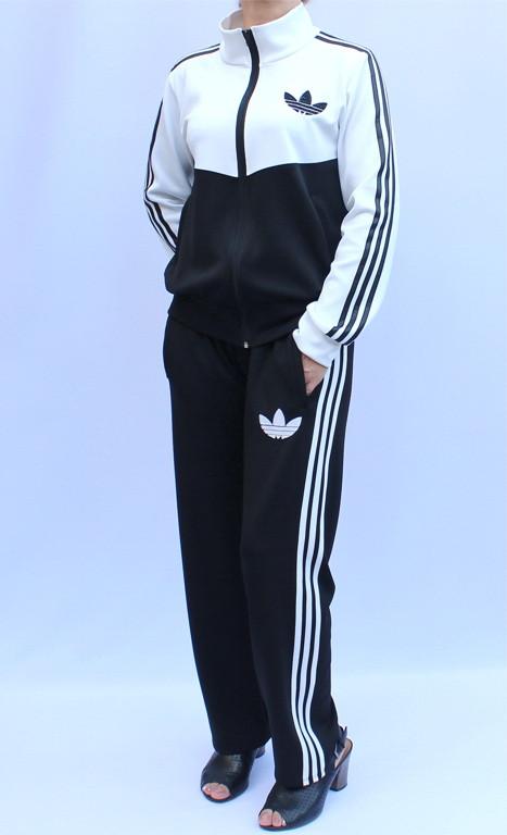 - спортивный костюм с воротником - белый верх -