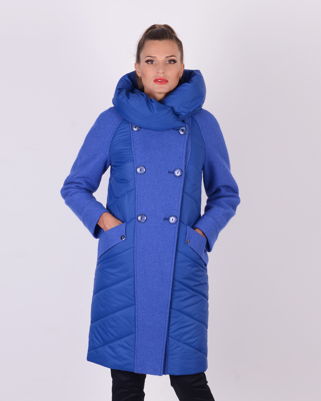 Куртка с вареной шерстью