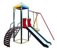 """Комплекс """"Гамми"""", спортивно-игровой для детских площадок."""