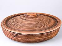 Сковорода керамическая 28 см. с крышкой