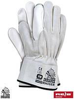 Рабочие перчатки кожаные HIGER