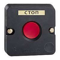 Пост кнопочный ПКЕ-122-1 (красная кнопка)
