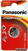 Батарейка Panasonic CR 2016 BLI 1 LITHIUM