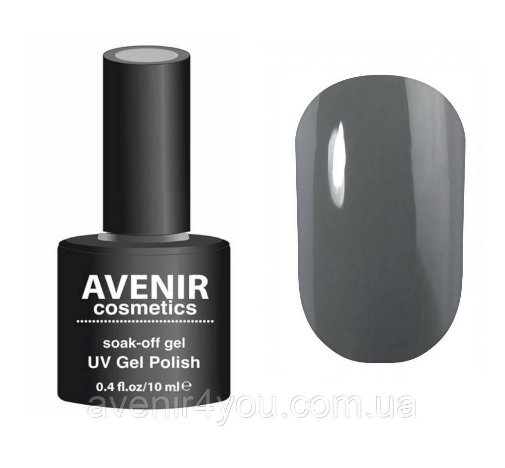 Гель-лак AVENIR Cosmetics №203. Благородный серый - Интернет-магазин 100% красоты. www.avenir4you.com.ua в Киеве