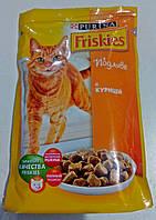 Friskies (Фрискис) корм для котов курица в подливе