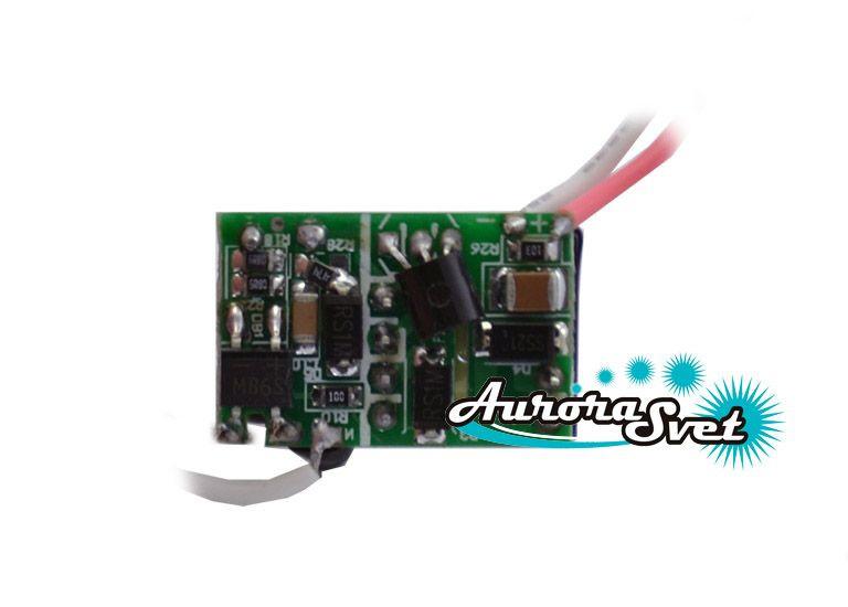 Драйвера для светодиодов  1x1W 220V. Светодиодный драйвер. LED драйвер.
