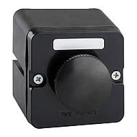 Пост кнопочный ПКЕ-222-1 (черный грибок)