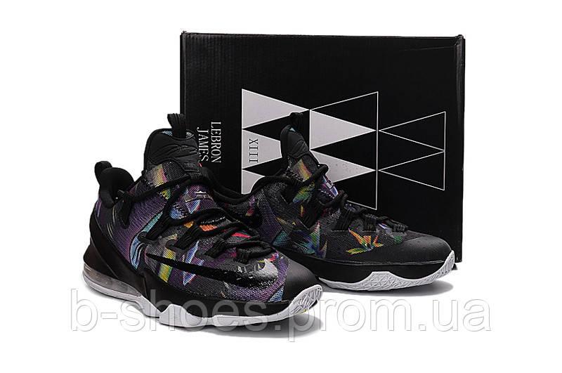 new concept 37199 d1e8e Мужские баскетбольные кроссовки Nike LeBron 13 Low (Black/Cosmic  Purple-White)