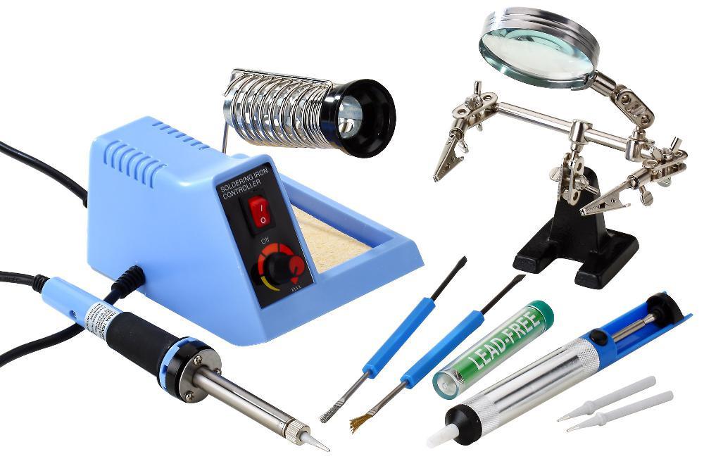 Набор для пайки с паяльной станцией ZD-99 Kit