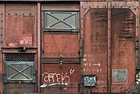 "Флизелиновые фотообои ""Старый вагон"" 368х248 см"