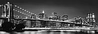 """Флизелиновые фотообои """"Бруклинский мост"""" 368х124 см"""