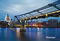"""Фотообои  """"Мост Тысячелетия"""" 368х254 см  , фото 1"""