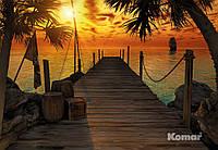 """Фотообои  """"Остров сокровищ"""" 368х254 см  , фото 1"""