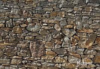 "Фотообои  ""Каменная стена"" 368х254 см  , фото 1"