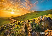 "Фотообои ""Утро в горах"" 368х254 см"
