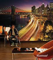 """Фотообои """"Огни Нью-Йорка"""" 368х254 см  , фото 1"""