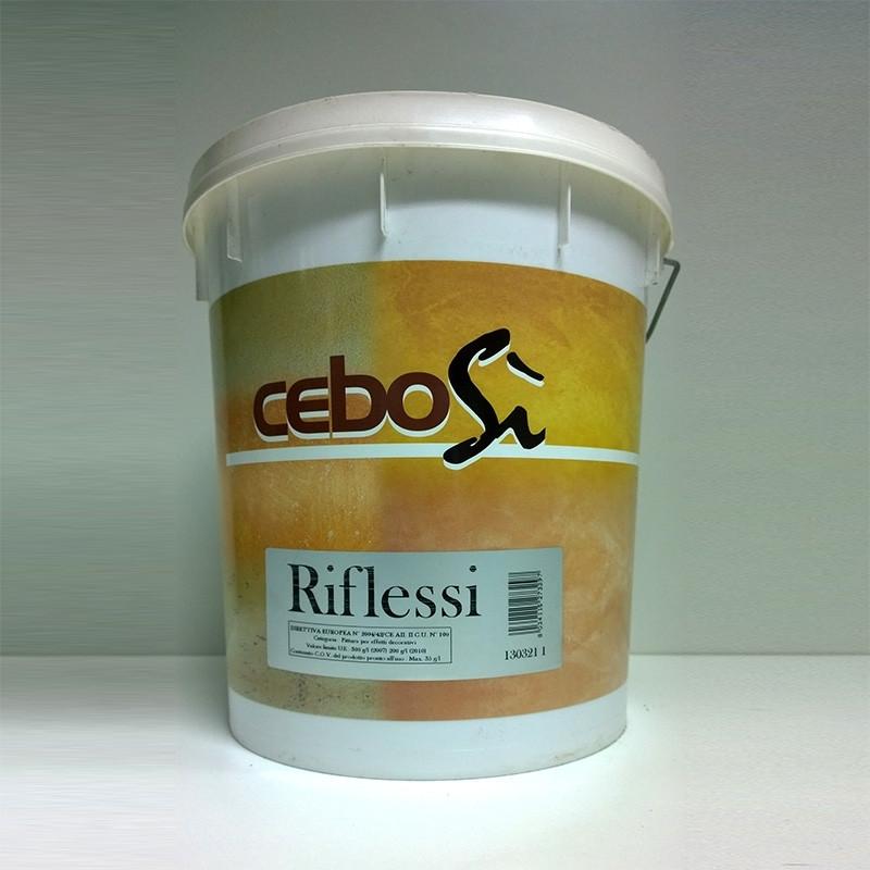 Декоративная штукатурка с металлическим эффектом CeboSi Riflessi. Cebos