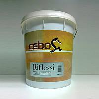 Декоративная штукатурка с металлическим эффектом CeboSi Riflessi. Cebos, фото 1