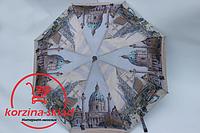 Зонт от дождя полуавтомат 3D Города